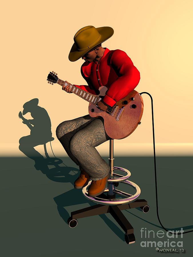 Like Jimi Hendrix Digital Art