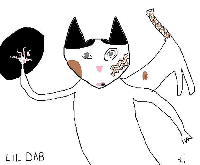 Lil Dab Painting
