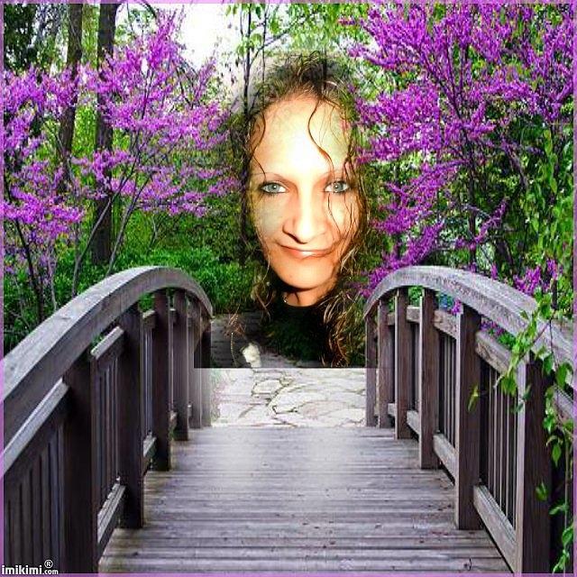 Lilac Garden Photograph
