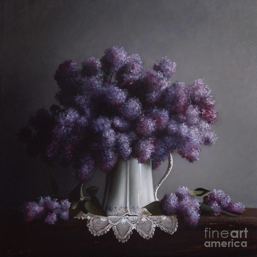 Lilacs Study No.2 Painting