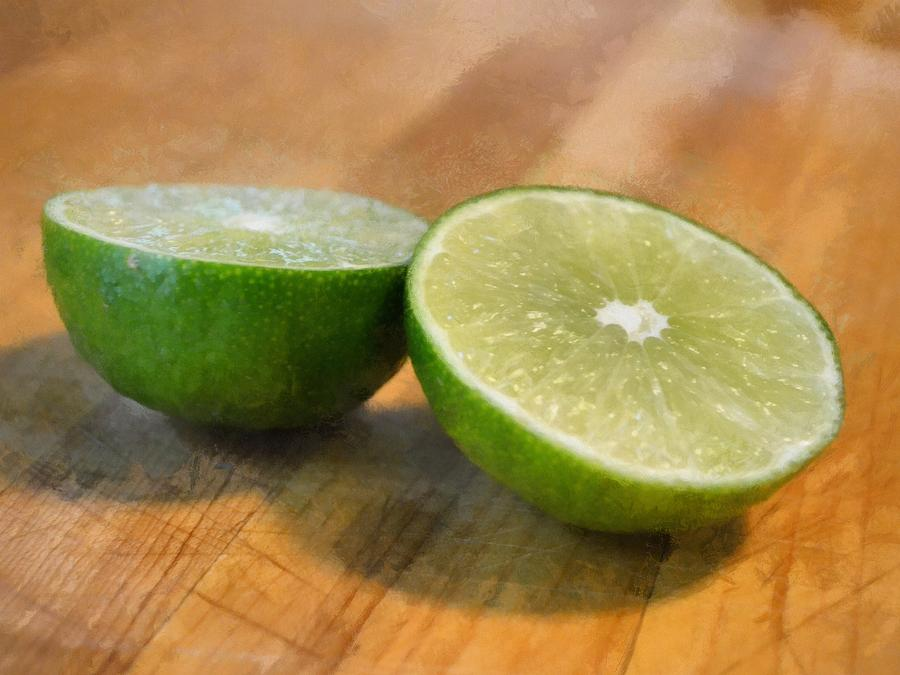 Lime Photograph  - Lime Fine Art Print