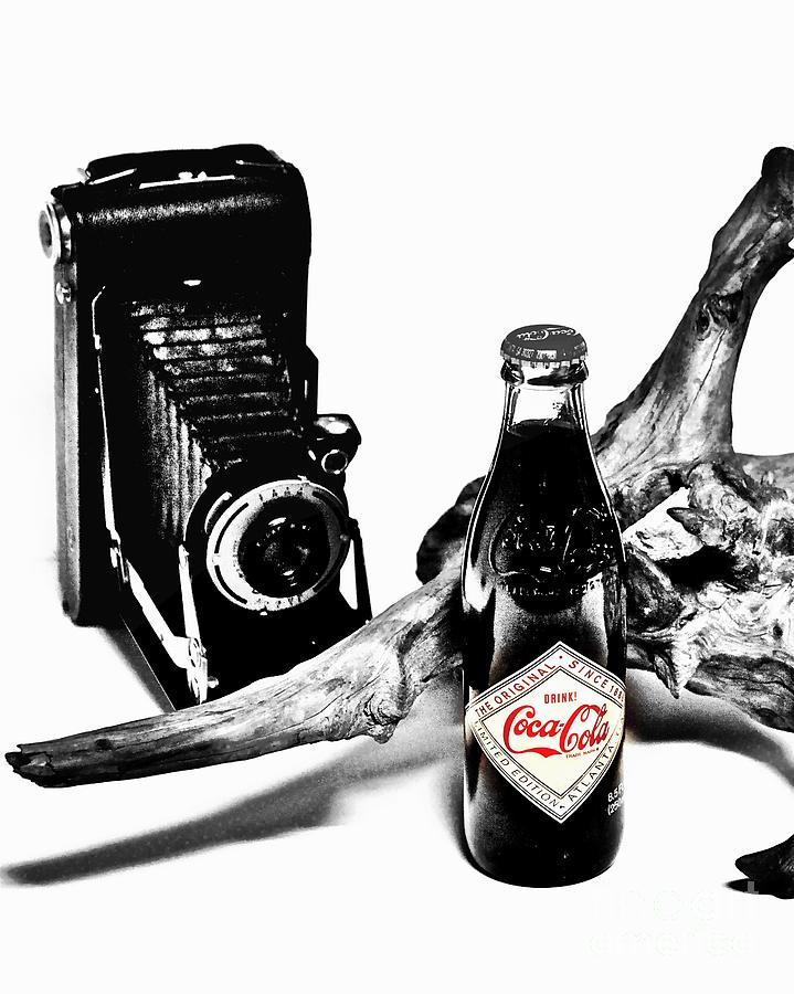 Limited Edition Bottles Photograph - Limited Edition Coke - No.008 by Joe Finney