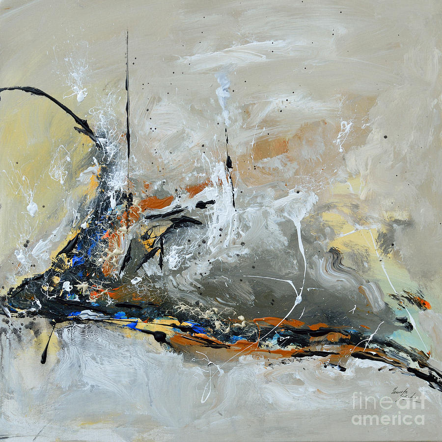 Limitless 1 - Abstract Painting Painting  - Limitless 1 - Abstract Painting Fine Art Print