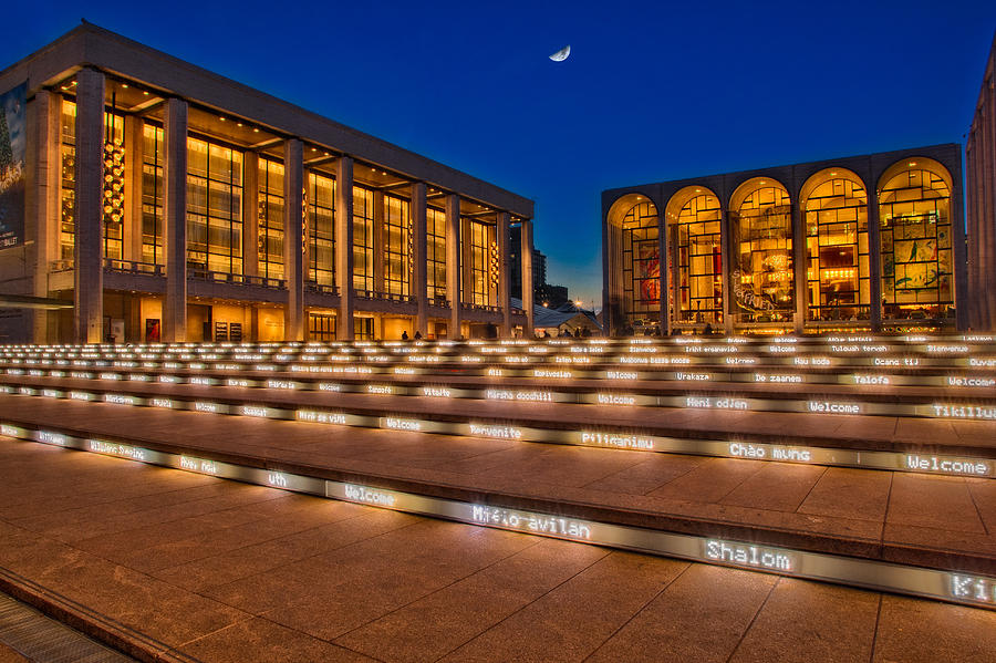 Lincoln Center Photograph