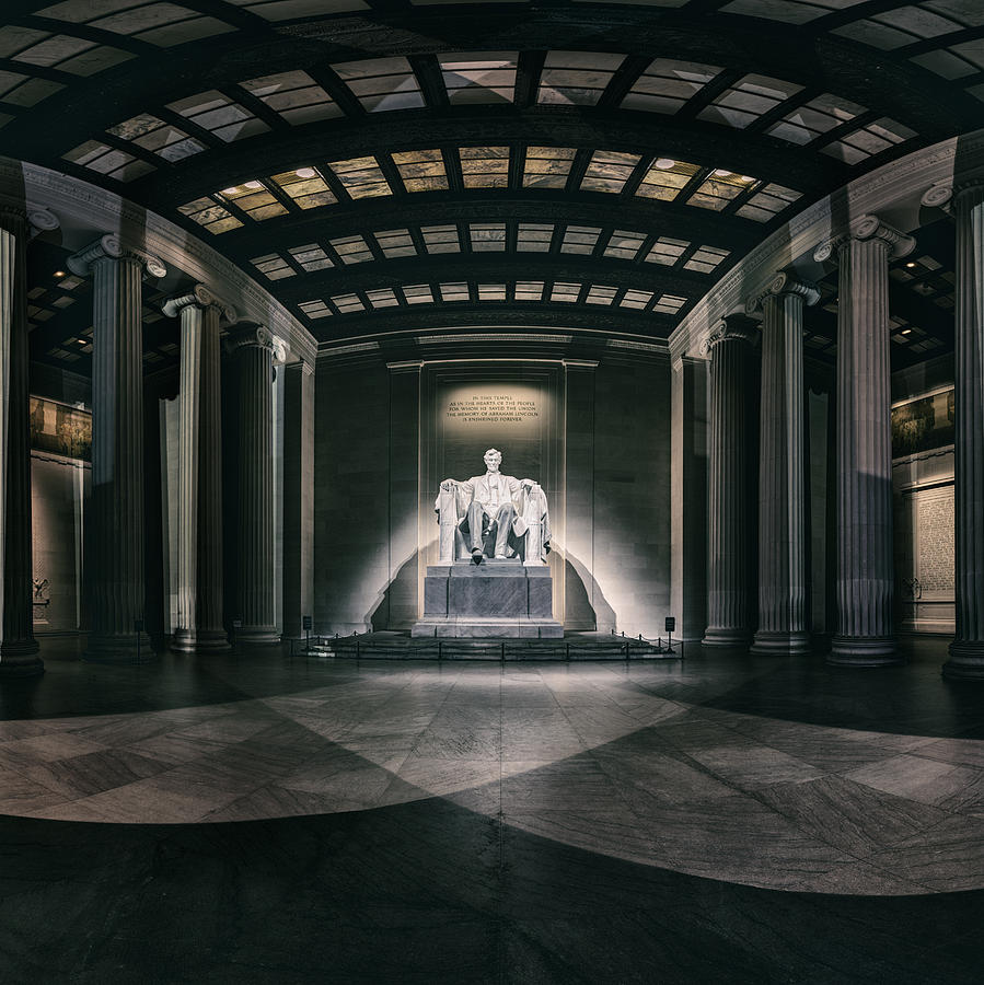 Lincoln Memorial Photograph  - Lincoln Memorial Fine Art Print
