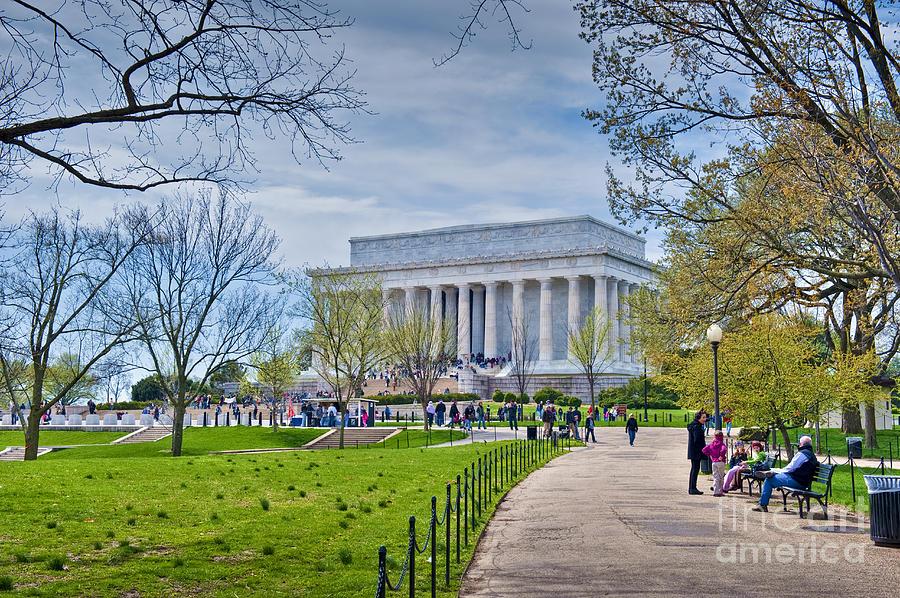 Lincoln Memorial National Mall Washington Dc Memorial Park Photograph ...