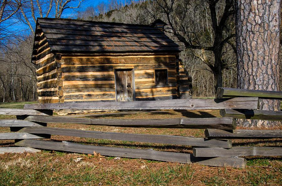 Lincolns Boyhood Home Photograph