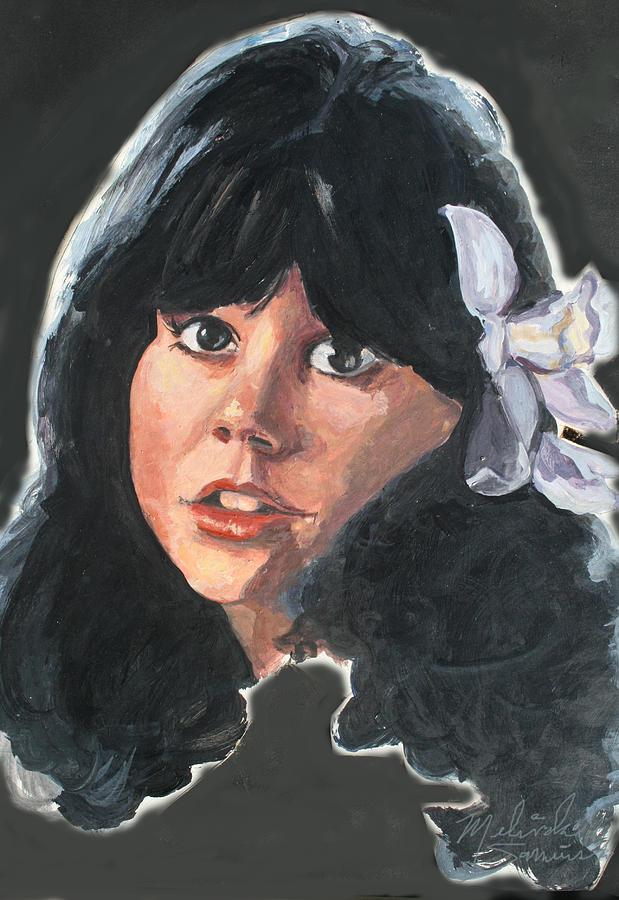 Linda Rondstadt Painting