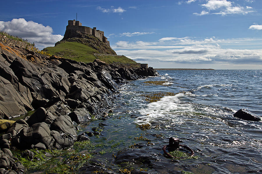 Lindisfarne Castle is a photograph by David Pringle which was uploaded ...