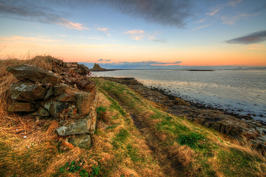 Lindisfarne Castle Views Photograph