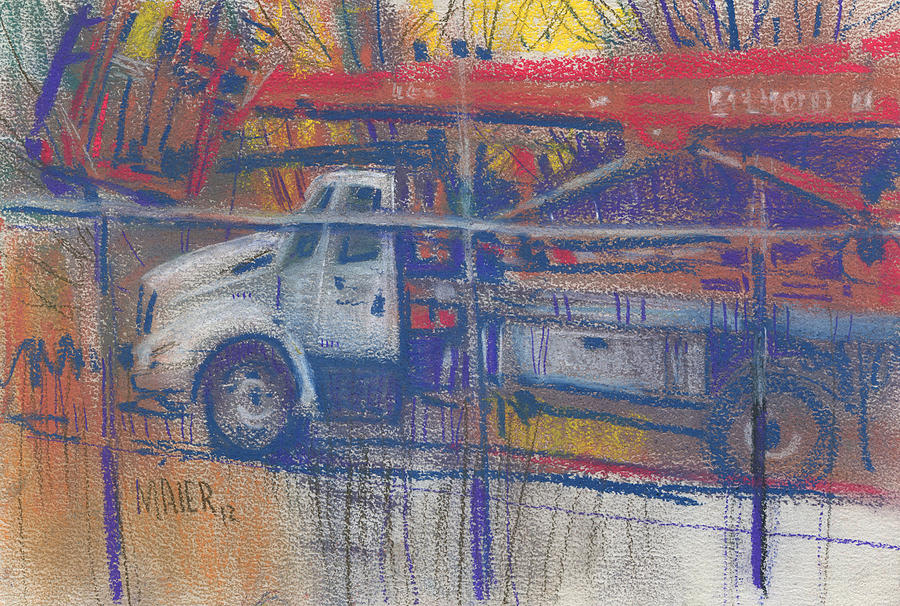 Line Truck Painting