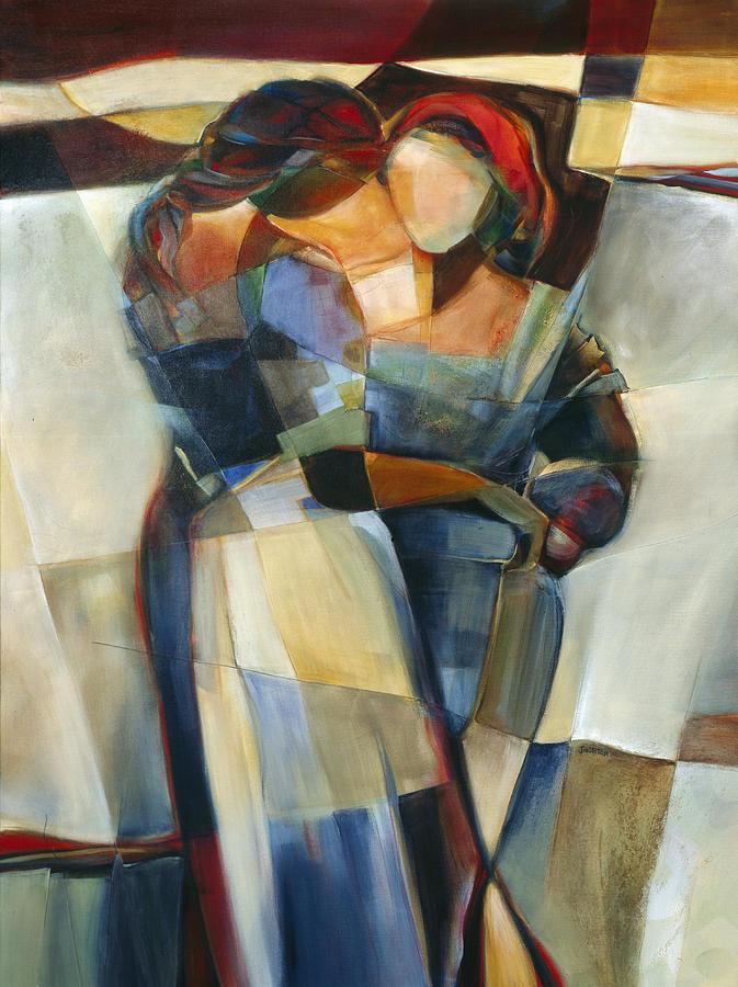 Lines Crossed Painting