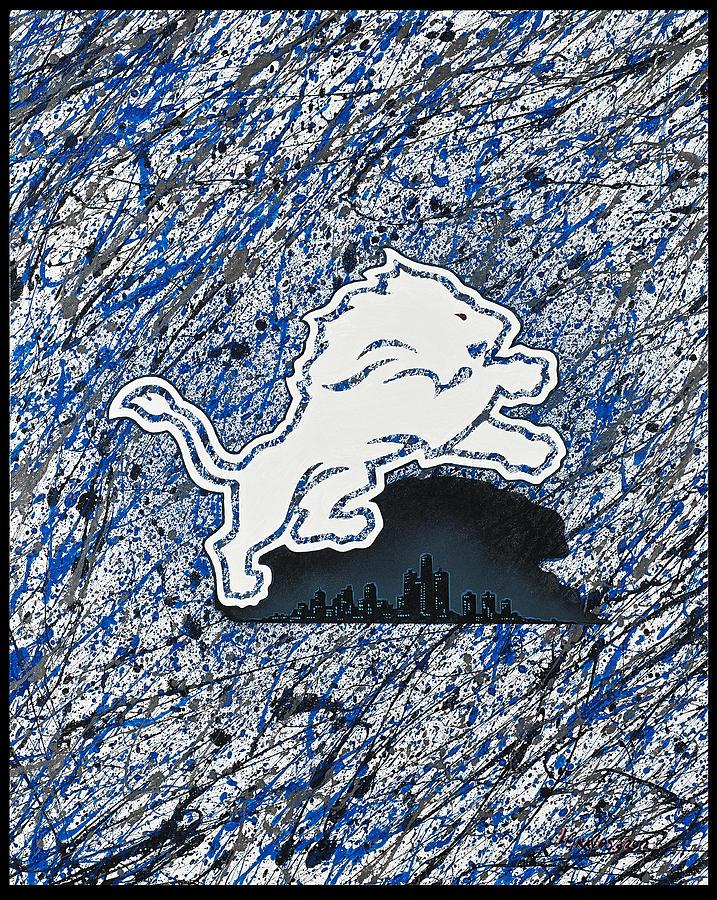 Lions Roar Painting