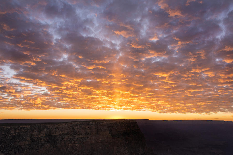Lipon Point Sunset 3 - Grand Canyon National Park - Arizona Photograph