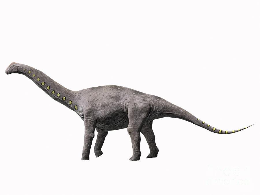 Lirainosaurus Astibae, Late Cretaceous Digital Art