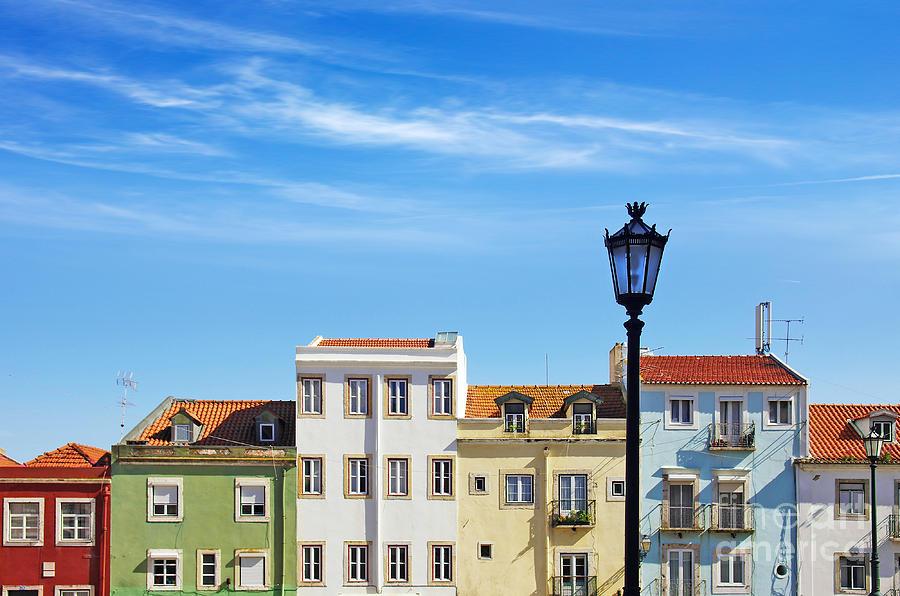Lisbon Houses Photograph