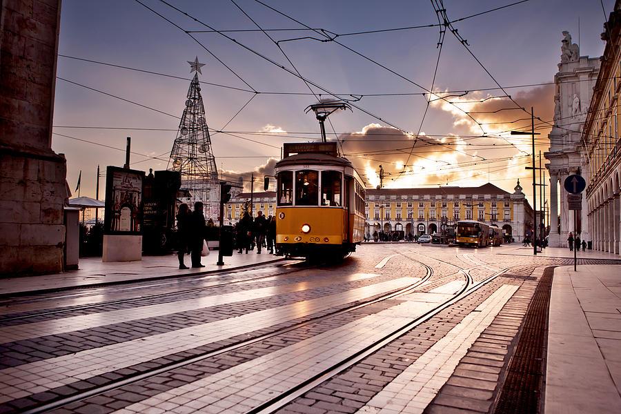 Lisbon Photograph - Lisbon Light by Jorge Maia