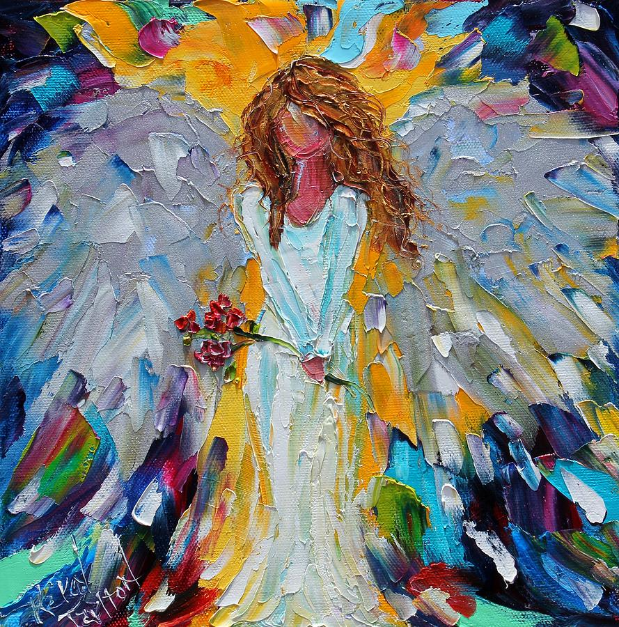 Karen Tarlton - Page 3 Little-angel-with-roses-karen-tarlton