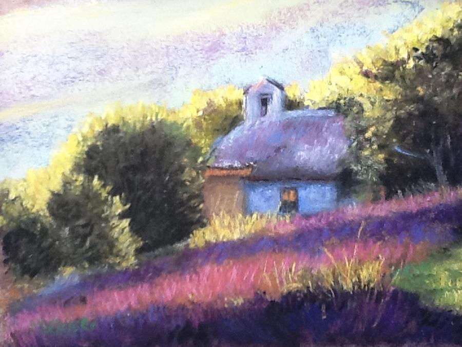 Little Chapel Pastel  - Little Chapel Fine Art Print