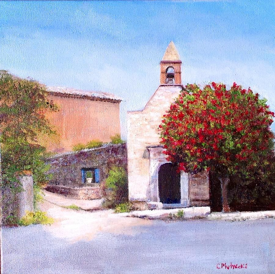 Little Chapel France Painting