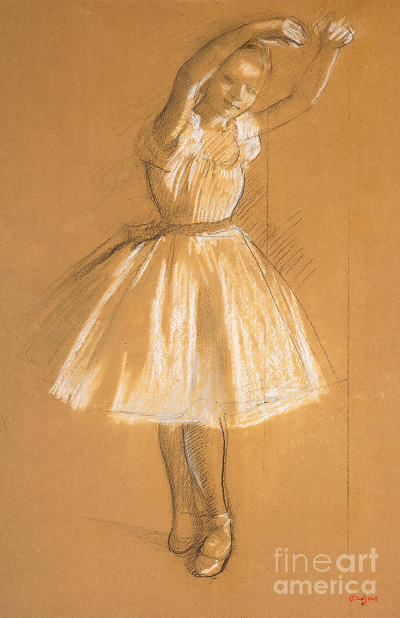 Little Dancer Drawing