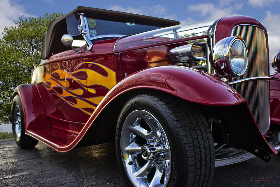 Little Deuce Coupe Photograph  - Little Deuce Coupe Fine Art Print