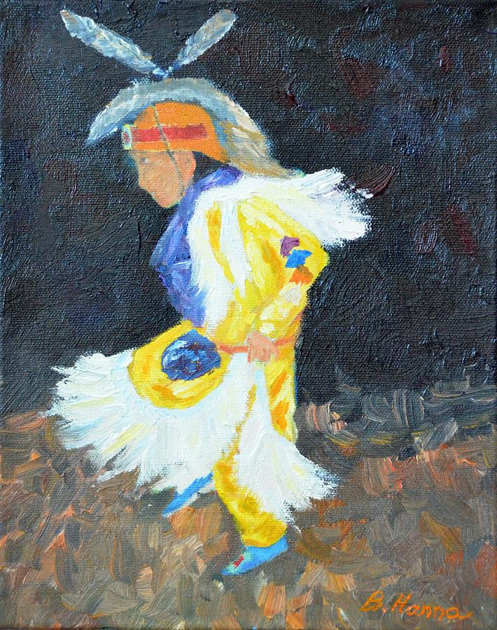 Little Grass Dancer Painting