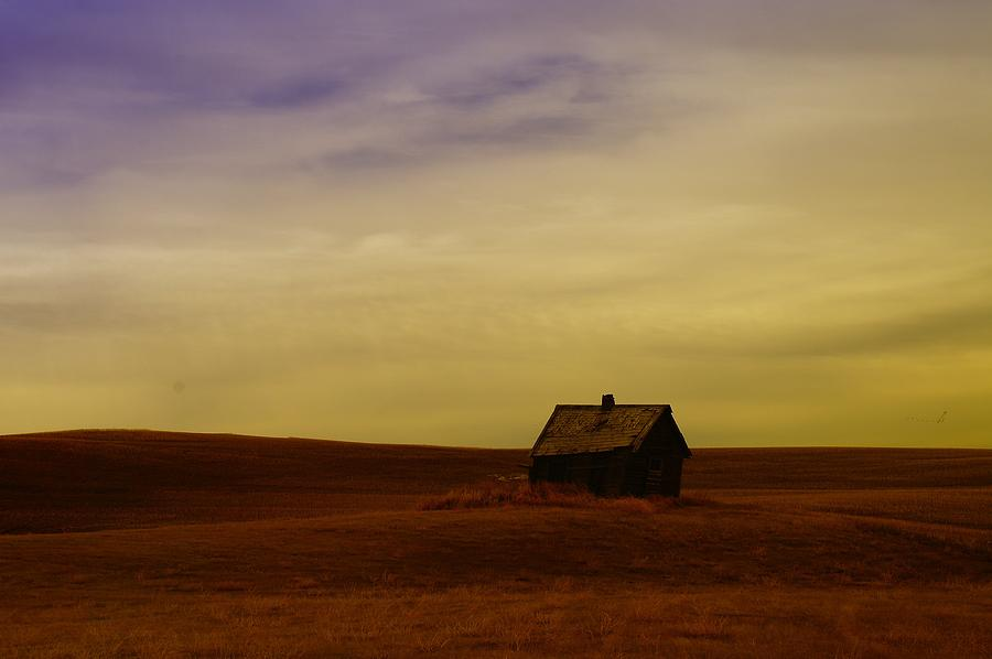 House Photograph - Little House On The Prairie  by Jeff Swan