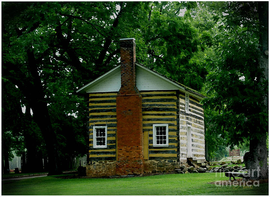 Log Cabin  Photograph - Little Log Cabin by James C Thomas