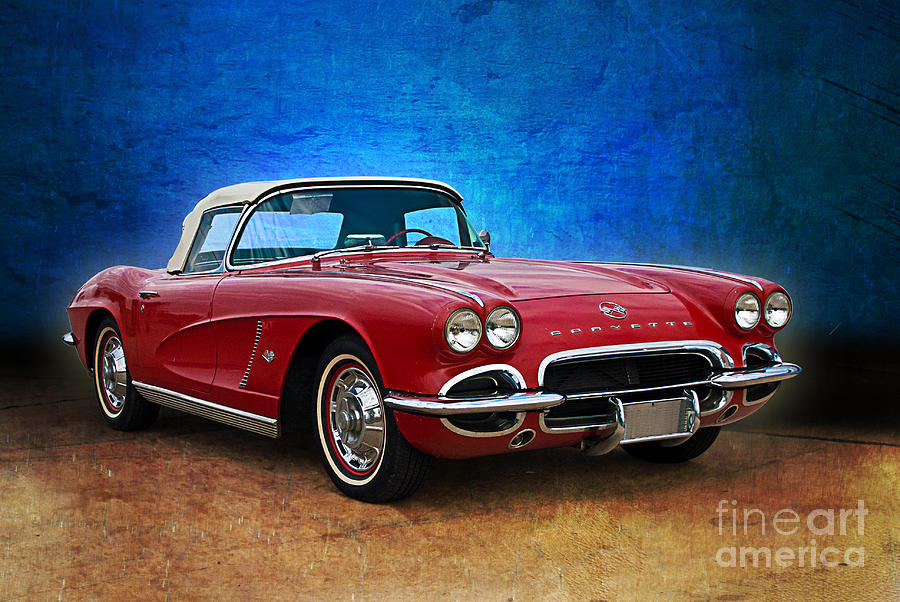 red photograph little red corvette by stuart row. Cars Review. Best American Auto & Cars Review