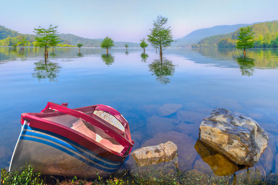 Little Rowboat Photograph  - Little Rowboat Fine Art Print