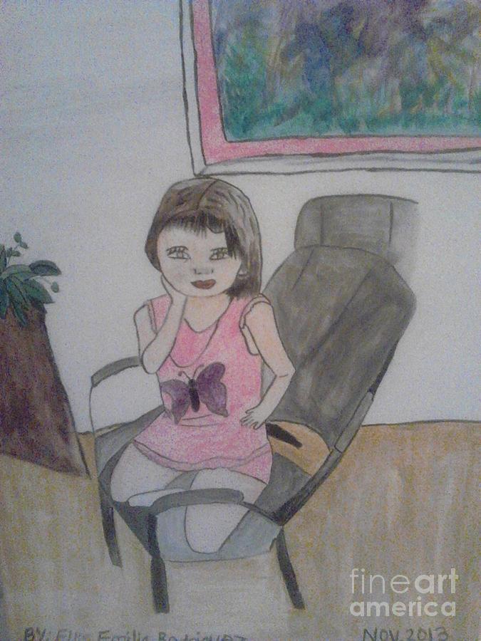little Sophia Painting