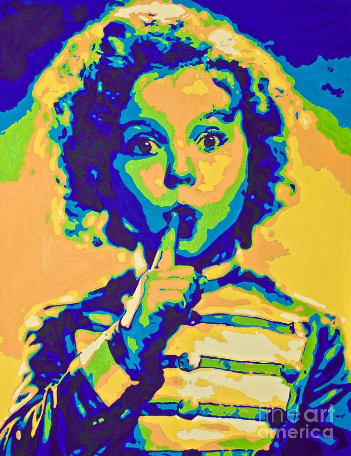 Little Technicolor Soldier Painting