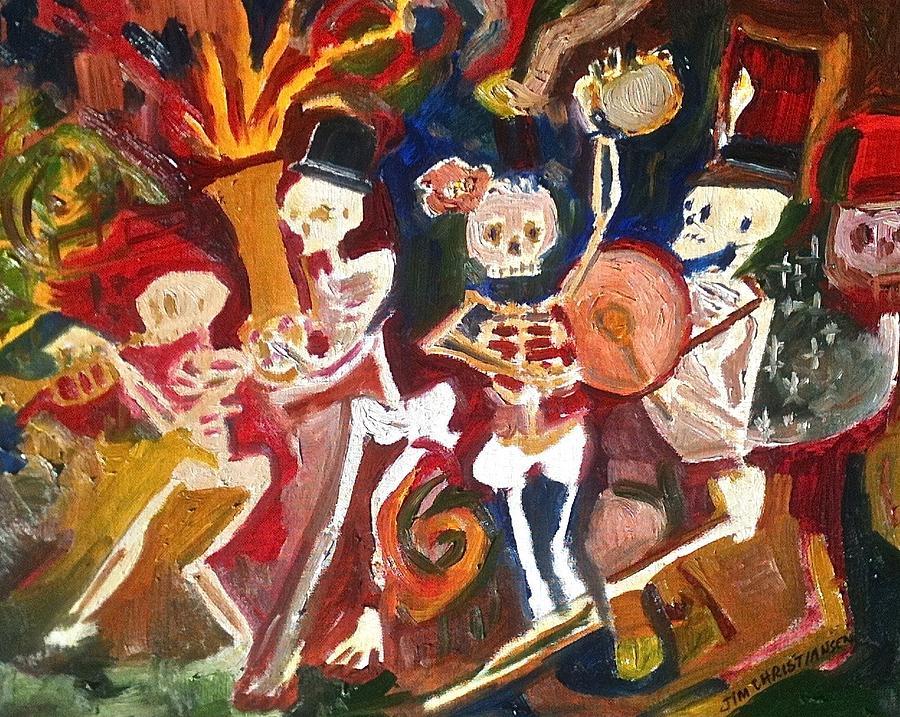 Live Jazz Painting
