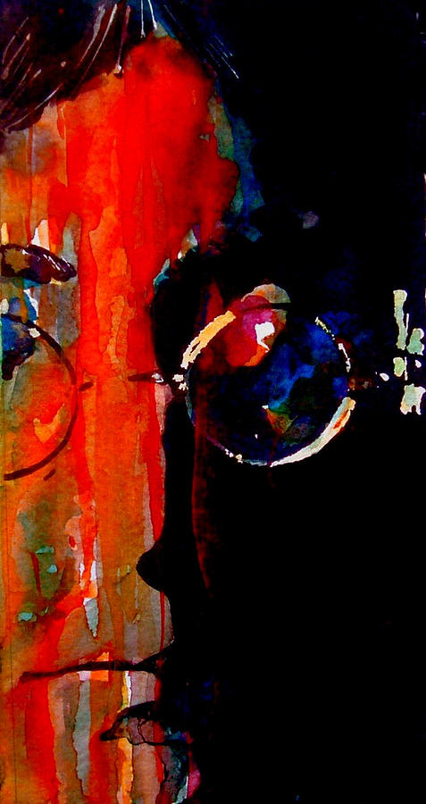 John Lennon  Painting - Living Is Easy With Eyes Closed by Paul Lovering