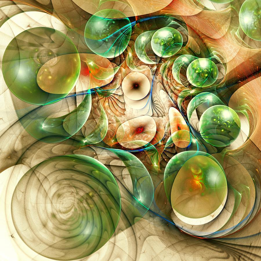 Living Organisms Digital Art  - Living Organisms Fine Art Print