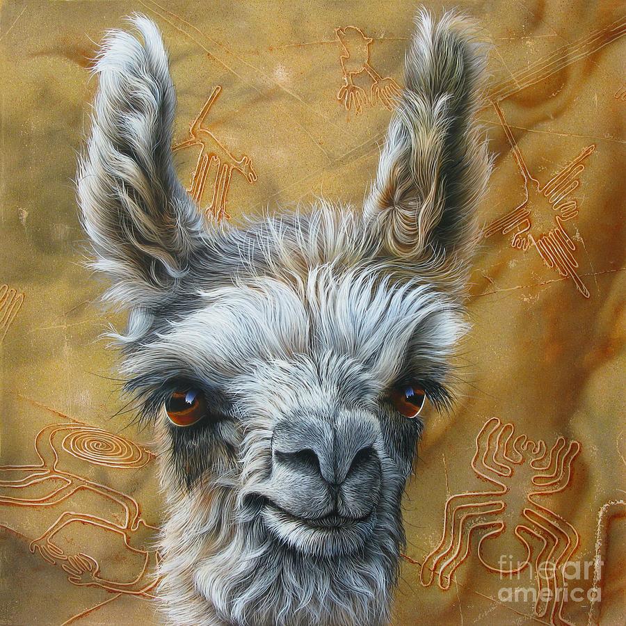 Llama Baby Painting