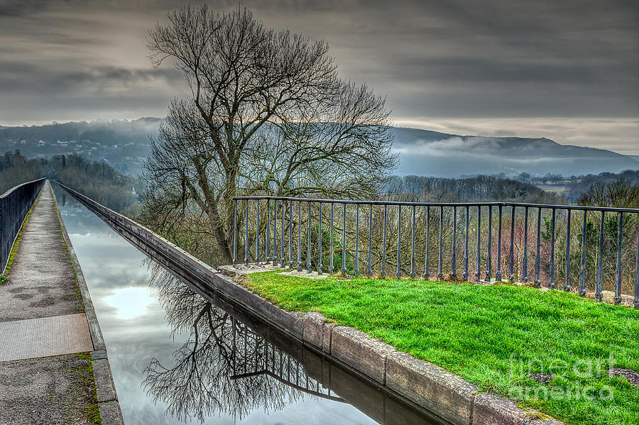 1805 Photograph - Llangollen Canal  by Adrian Evans