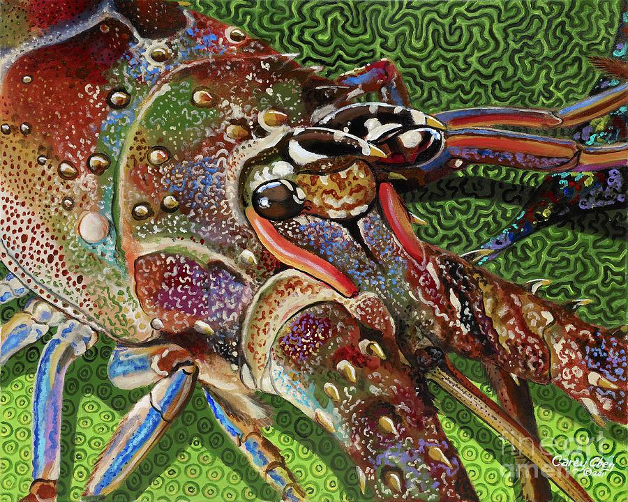 lobster season Re0027 Painting