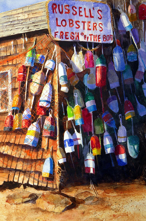 Lobster Shack Painting  - Lobster Shack Fine Art Print