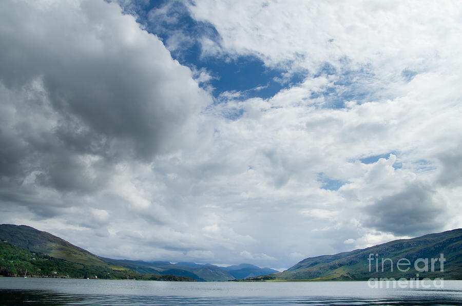Loch Broom Photograph  - Loch Broom Fine Art Print