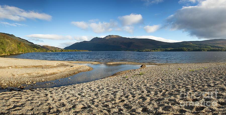 Loch Lomond Pano Photograph