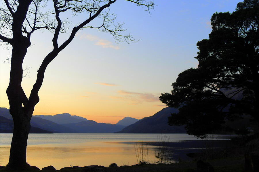 Loch Lomond Sunset Photograph