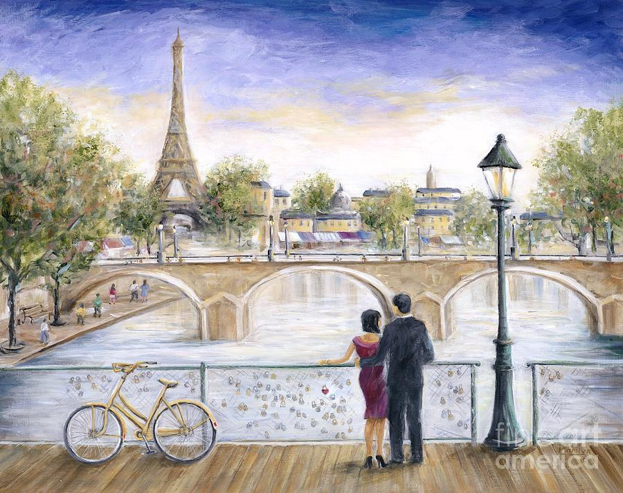 Locked In Love Painting  - Locked In Love Fine Art Print