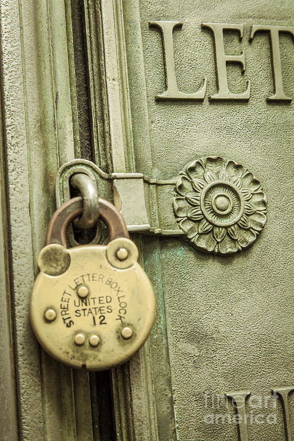 Locked Photograph  - Locked Fine Art Print