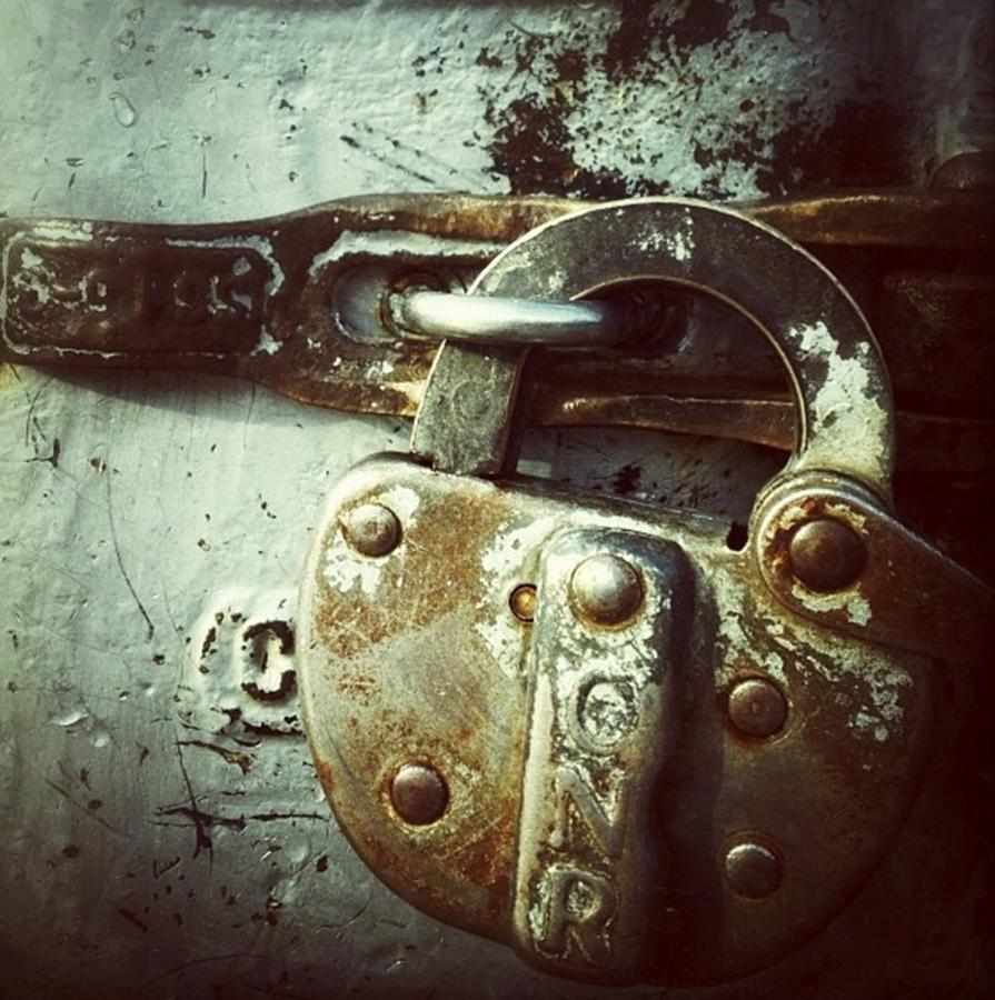 Locked Photograph - Locked by Nathalie Longpre
