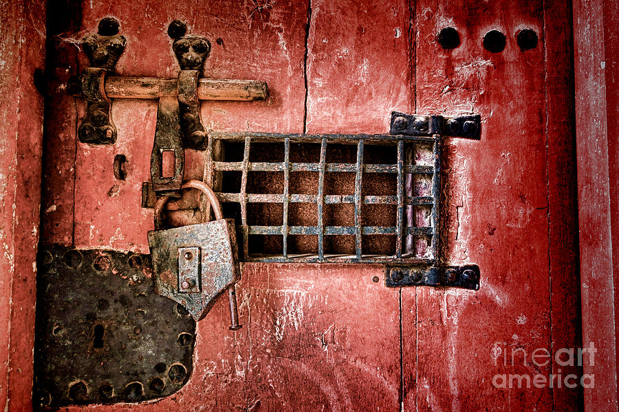 Lock Photograph - Locked Up by Olivier Le Queinec