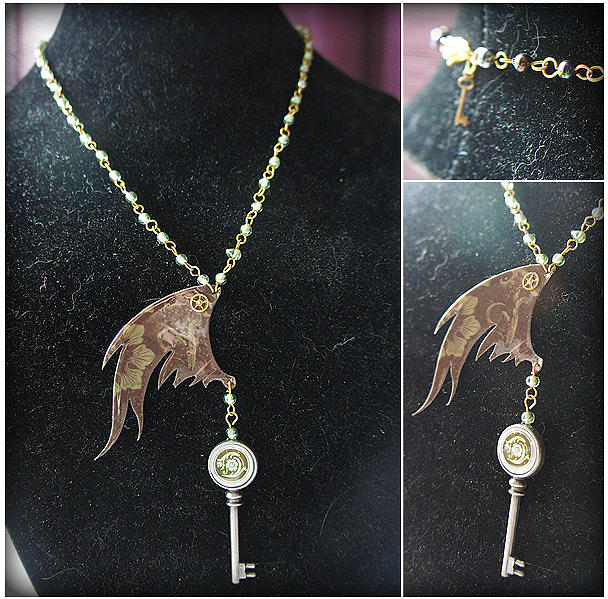 Locked Wings Jewelry
