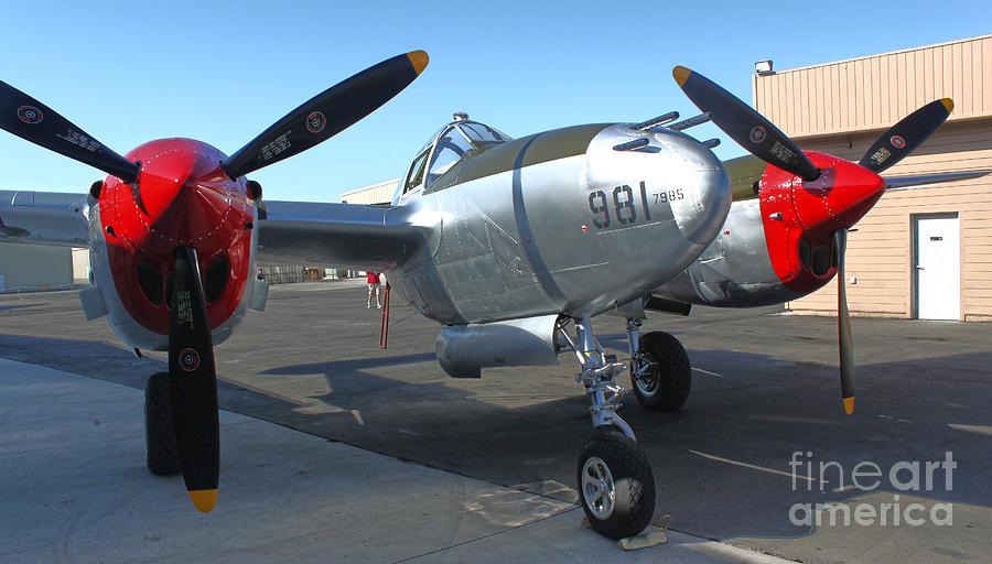 Lockheed P-38l Lightning Honey Bunny  - 02 Photograph