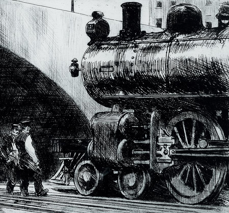 Locomotive Painting